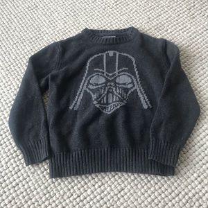 Gapkids Junk food Darth Vader sweater